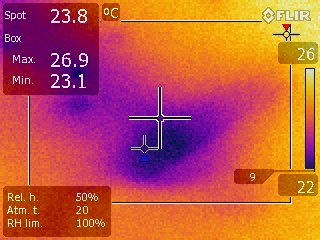 Significant Findings With Infrared Camera